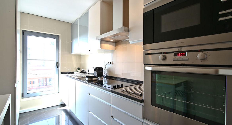 Apartamentos para Venda em Lisboa Parque das Nacoes Empreendimento Panoramic Vista Rio e Vista Cidade Cozinha