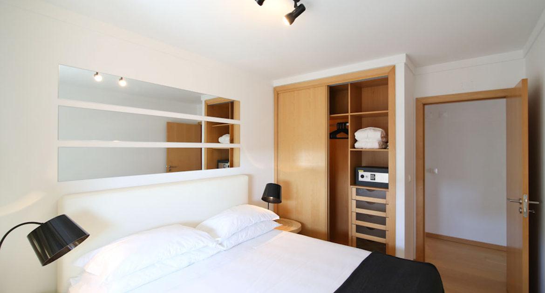 Apartamentos para Venda em Lisboa Parque das Nacoes Empreendimento Panoramic Vista Rio e Vista Cidade Quarto Armario