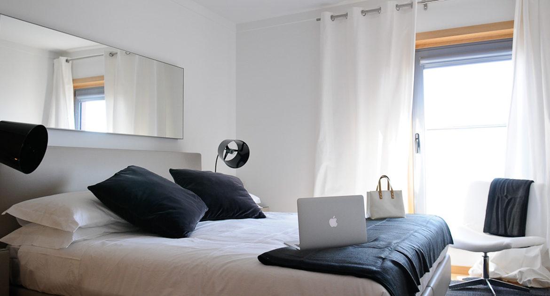 Apartamentos para Venda em Lisboa Parque das Nacoes Empreendimento Panoramic Vista Rio e Vista Cidade Quarto D etalhes