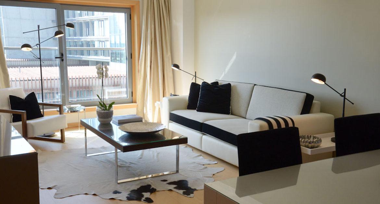 Apartamentos para Venda em Lisboa Parque das Nacoes Empreendimento Panoramic Vista Rio e Vista Cidade Sala e Sala de Jantar