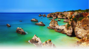 Vau Beach in Portimao