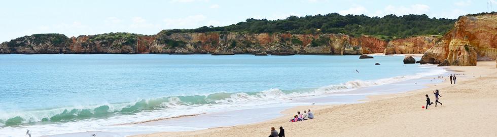 Vau beach in Portimão
